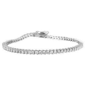 4 Carats small round cut diamonds lady bracelet